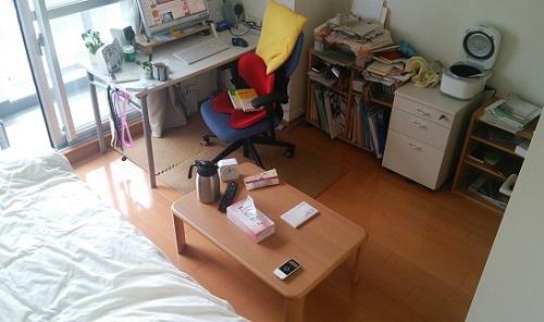 私の部屋(25平米、6.5畳)